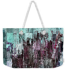 Weekender Tote Bag featuring the digital art Ascension - C03xt-161at2c by Variance Collections