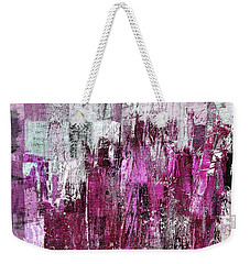 Weekender Tote Bag featuring the digital art Ascension - C03xt-165at2c by Variance Collections
