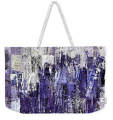 Weekender Tote Bag featuring the painting Ascension - C03xt-166at2c by Variance Collections