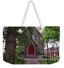 Weekender Tote Bag featuring the photograph Ascension Episcopal Church by Mark Dodd
