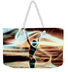 Weekender Tote Bag featuring the digital art Ascension by Pennie McCracken