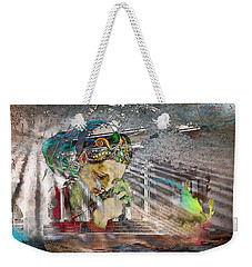 Weekender Tote Bag featuring the photograph Ascension by Richard Ricci