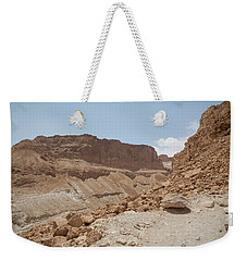 Ascension To Masada - Judean Desert, Israel Weekender Tote Bag by Yoel Koskas