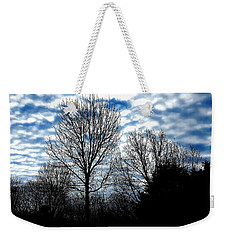 Ash Trees Against A Mackerel Sky Weekender Tote Bag