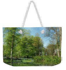 Weekender Tote Bag featuring the photograph Ashenbank Woods - Digital Art by Ryan Photography