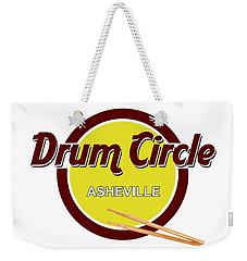 Asheville Drum Circle Logo Weekender Tote Bag