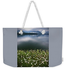 Weekender Tote Bag featuring the photograph Ashokan Reservoir by Debra Fedchin