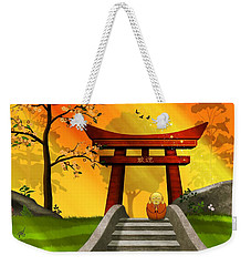 Asian Art Chinese Spring Weekender Tote Bag