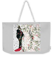 Asian Art Deco Beauty Weekender Tote Bag