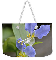 Virginia Dayflower Pair Weekender Tote Bag
