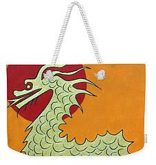 Asian Dragon Icon No. 1 Weekender Tote Bag