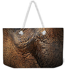 Asian Elephant Abstract Weekender Tote Bag