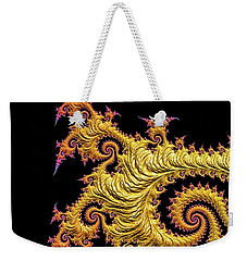 Asian Gold Weekender Tote Bag