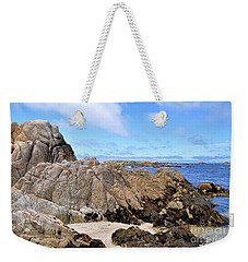 Weekender Tote Bag featuring the photograph Asilomar State Marine Reserve by Gina Savage