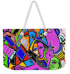 Asking A Fool Weekender Tote Bag