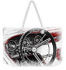Asleep At The Wheel Weekender Tote Bag