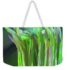 Asparagus Study 01 Weekender Tote Bag by Wally Hampton