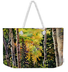 Aspen Afternoon Weekender Tote Bag