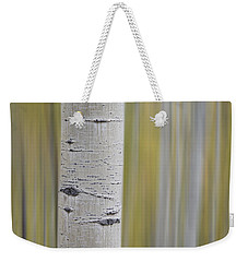 Weekender Tote Bag featuring the photograph Aspen by Gary Lengyel