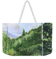 Aspen Heaven Weekender Tote Bag