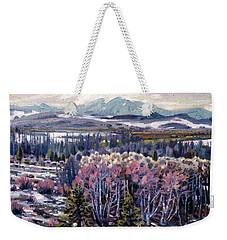 Aspen In April Weekender Tote Bag