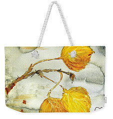 Aspen Leaves Weekender Tote Bag