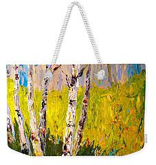 Aspen Spring Weekender Tote Bag