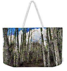 Aspen Standing Weekender Tote Bag by Jeff Kolker