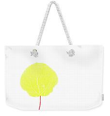 Aspen Yellow Weekender Tote Bag