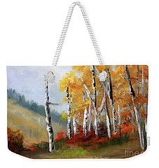 Aspens En Plein Air Weekender Tote Bag