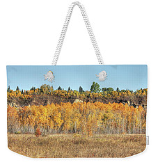 Aspens In Autumn Weekender Tote Bag