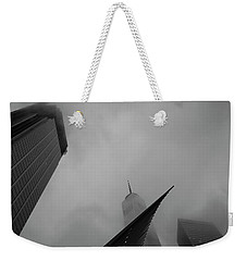 Weekender Tote Bag featuring the photograph Aspire by Alex Lapidus