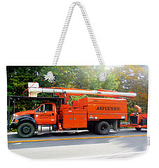 Asplundh Tree Expert Company Trucks Weekender Tote Bag