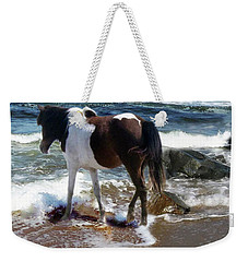 Assateague Pony Weekender Tote Bag
