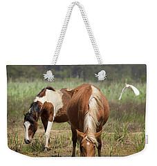 Assateague Pony Pair Weekender Tote Bag