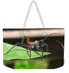 Assault Bug Weekender Tote Bag by Donna Brown