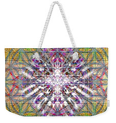 Assent From The Womb In The Flower Tree Of Life Weekender Tote Bag by Christopher Pringer
