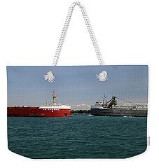 Assiniboine And Mississagi Passing Weekender Tote Bag