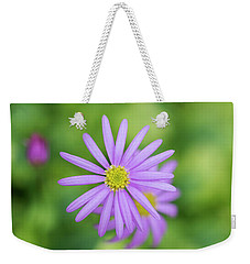 Weekender Tote Bag featuring the photograph Pilliga Daisy by Tim Gainey