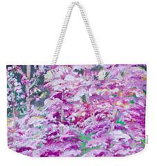 Astilbes Weekender Tote Bag
