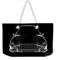 Aston Martin Db5 - Front View Weekender Tote Bag
