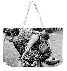 Bag Lady Weekender Tote Bag