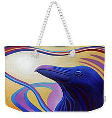 Astral Raven Weekender Tote Bag