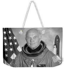 Astronaut John Glenn - 1998 Weekender Tote Bag