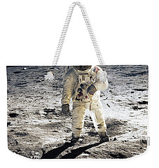 Astronaut Weekender Tote Bag by Photo Researchers