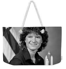 Astronaut Sally Ride  Weekender Tote Bag