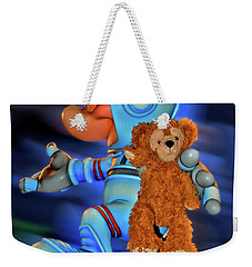 Astronaut Training Bear Mp Weekender Tote Bag