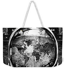 Astronaut World Map 1 Weekender Tote Bag by Bekim Art