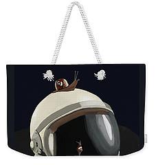 Astronaut's Helmet Weekender Tote Bag