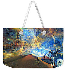 Astronauts On A Red Planet Weekender Tote Bag